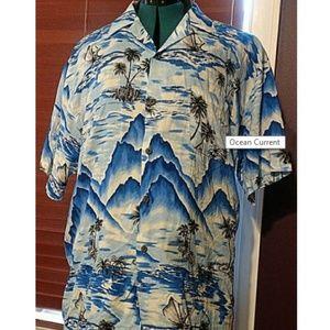 Ocean Current Hawaiian Shirt